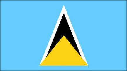 St Lucian Flag