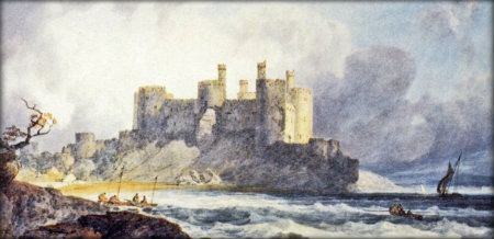 Conway Castle by Turner