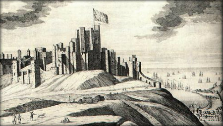 Dover Castle by Knip