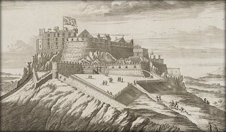 Edinburgh Castle - 17th Century