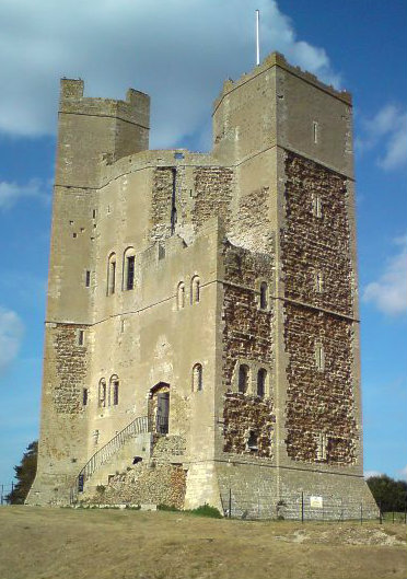 Orford Castle in Suffolk (Credit)