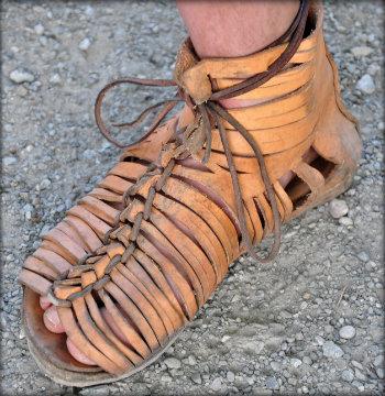 A Roman military sandal (Credit)