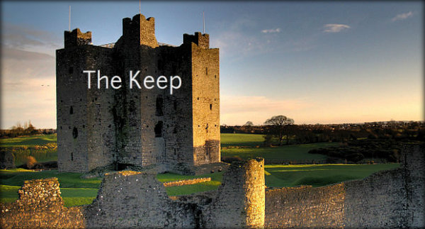 The Keep at Trim Castle, Ireland. (Credit)