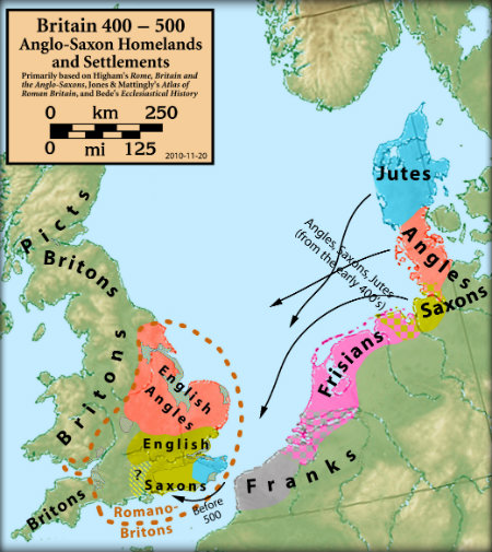 Who were the Anglo-Saxons? - Primary Facts