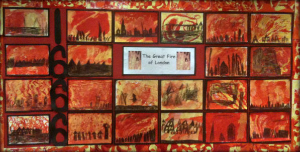 Great Fire of London Classroom Display 10