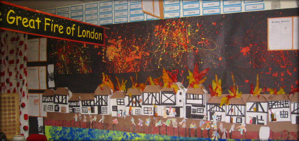 Great Fire of London Classroom Display 5