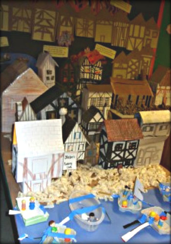 Great Fire of London Classroom Display 7