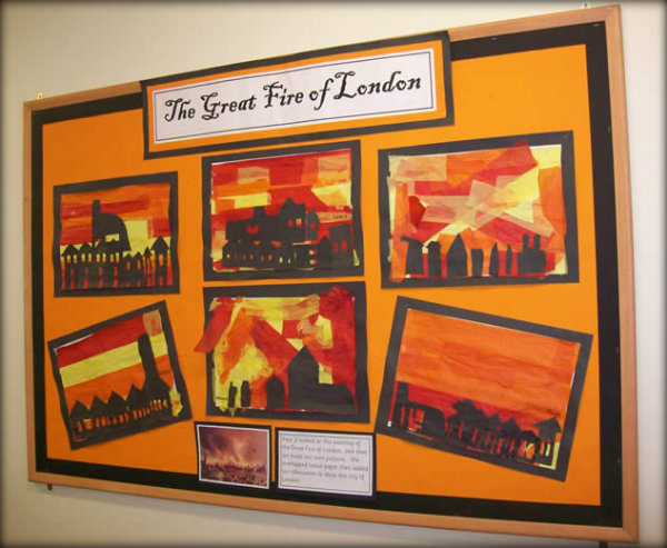 Great Fire of London Classroom Display 9
