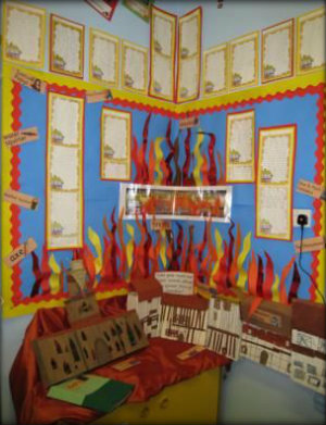 Great Fire of London Classroom Display 8