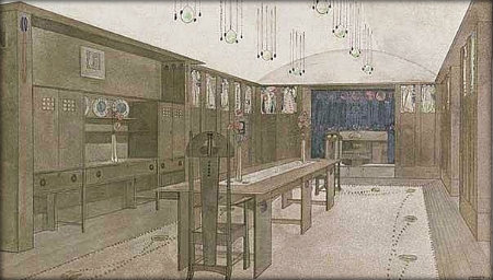 Charles Rennie Mackintosh Dining Room