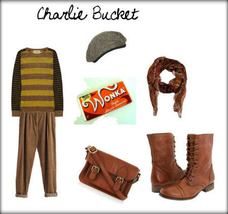 Charlie Bucket Costume Ideas