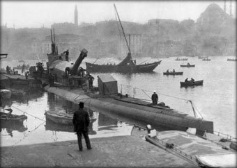 WW1 submarine